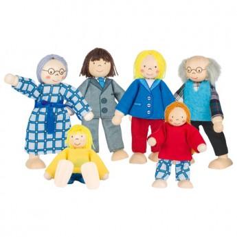 Pro holky - Panenky do domečku – rodina z města