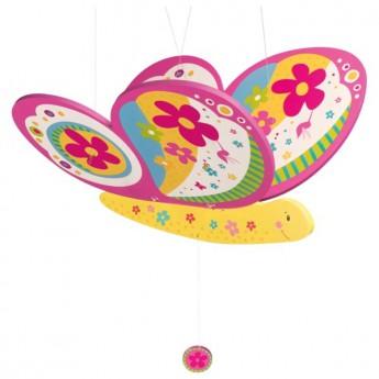 Létající závěsná dekorace Motýlek Susibelle