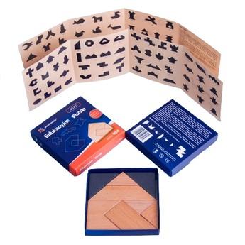 Dřevěné puzzle - série Rox