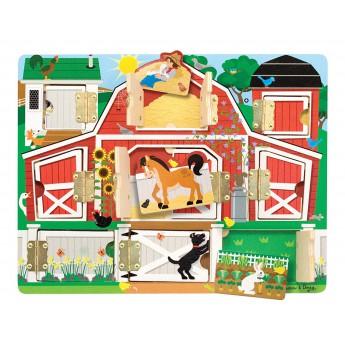 Puzzle - Schovávání s hospodářskými zvířaty