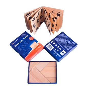 Dřevěné puzzle - série Fan