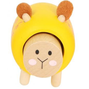 Pro nejmenší - Dřevěná bečící ovečka