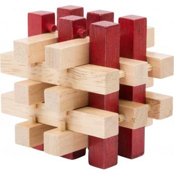 Dřevěný hlavolam - špalíky