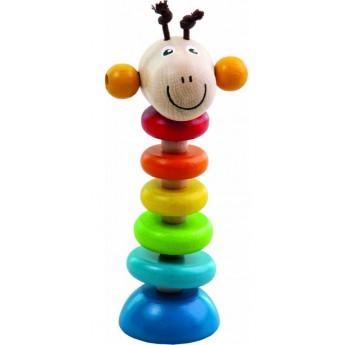 Žirafa na gumě