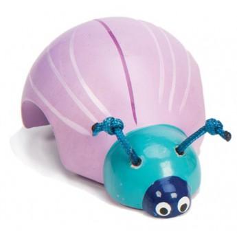 Natahovací brouček - fialový