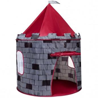 Dětský stan Hrad PlayTo šedý