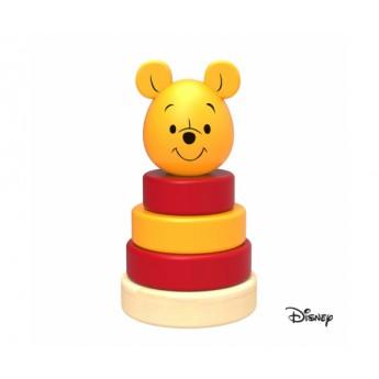 Disney Dřevěná pyramida Medvídek Pú