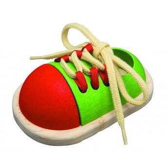 Motorické a didaktické hračky - Šněrovací bota