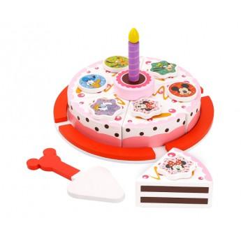 Disney Dřevěný krájecí dort Minnie a přátelé