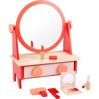 Dřevěný kosmetický stolek Retro