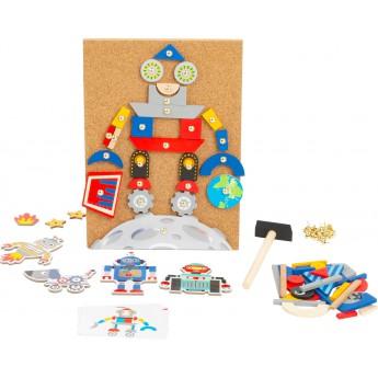 Zatloukací hra Roboti