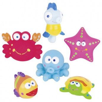 Stříkací hračka do vody – mořská zvířátka