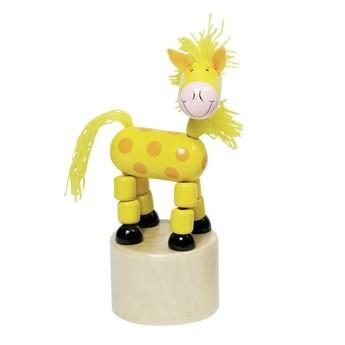 Mačkací figurka - Veselá žirafa