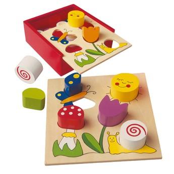 Motorické a didaktické hračky - Bino Bella Florina
