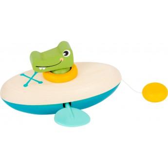 Small Foot Vodní hračka krokodýl kánoe