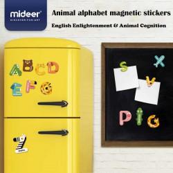 MiDeer Magnetky Zvířátková písmenka