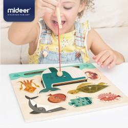 MiDeer Vkládací puzzle Lovení rybek