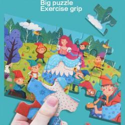 Alenka v říši divů puzzle 36 dílků