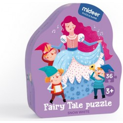Sněhurka puzzle 36 dílků
