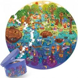 Den v lese puzzle 150 ks