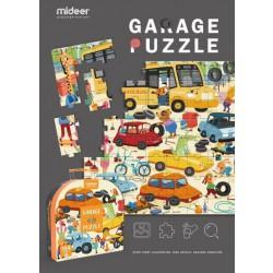 Moje garáž podlahové puzzle 104 dílků
