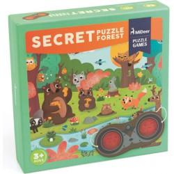 Detektivní puzzle - Tajemný les