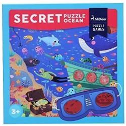 Detektivní puzzle - Ve vesmíru - 42 dílků
