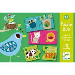 Djeco Duo puzzle Pelíšky