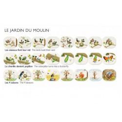 Sada promítacích příběhů Zahrada + zápisníky