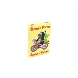 Černý Petr Krtek v žluté krabičce