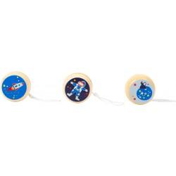 Small Foot Dřevěné jojo Space - Kosmonaut