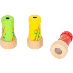 Small Foot Mini kaleidoskop - žlutý