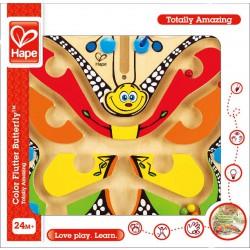 Magnetický labyrint s kuličkou-Barevný motýl