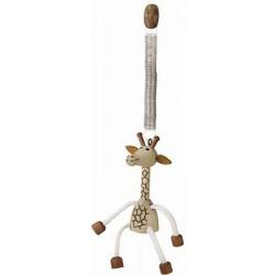 Dřeváček žirafa na pružině