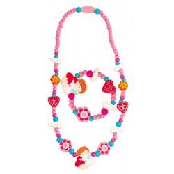 Souprava náhrdelník a náramek - Anděl