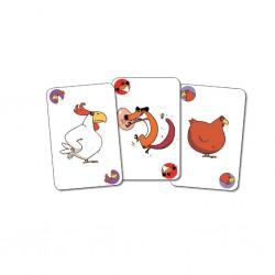 Djeco Karetní hra Piou Piou