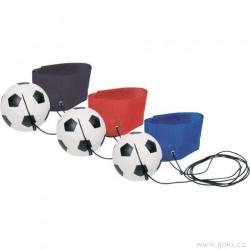 Fotbalový míček na gumě na ruku