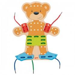 Provlékací postavička – medvídek, 54 díly