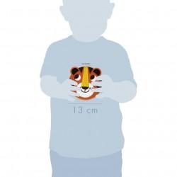 Dětské vyšívání Tygr