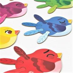 Kreativní sada barvy Ptáčci