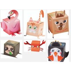 Vyrobte si 8 zvířecích krabiček