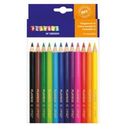 Barevné pastelky XL, 12 ks