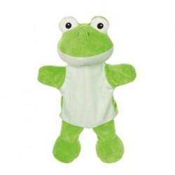 Maňásek na ruku pro děti – Žabka