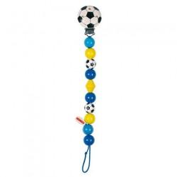 Závěs na dudlík - Modrý fotbal