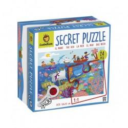 Ludattica Puzzle s lupou - Moře - 24 dílů