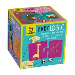 Ludattica Duo puzzle Baby logic - Co zvířátka jí