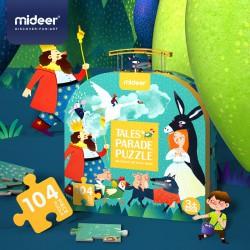 Z pohádky do pohádky puzzle podlahové puzzle 104 dílků