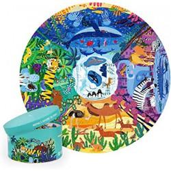Zvířata z celého světa puzzle 150 ks
