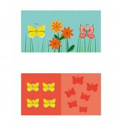 Scratch Sada her 3v1 Motýli