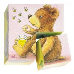 Kostky s obrázkem – Baby zvířátka